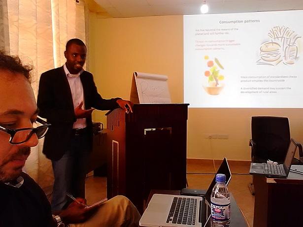 Bunmi Ajilore, Foresight focal point at YPARD
