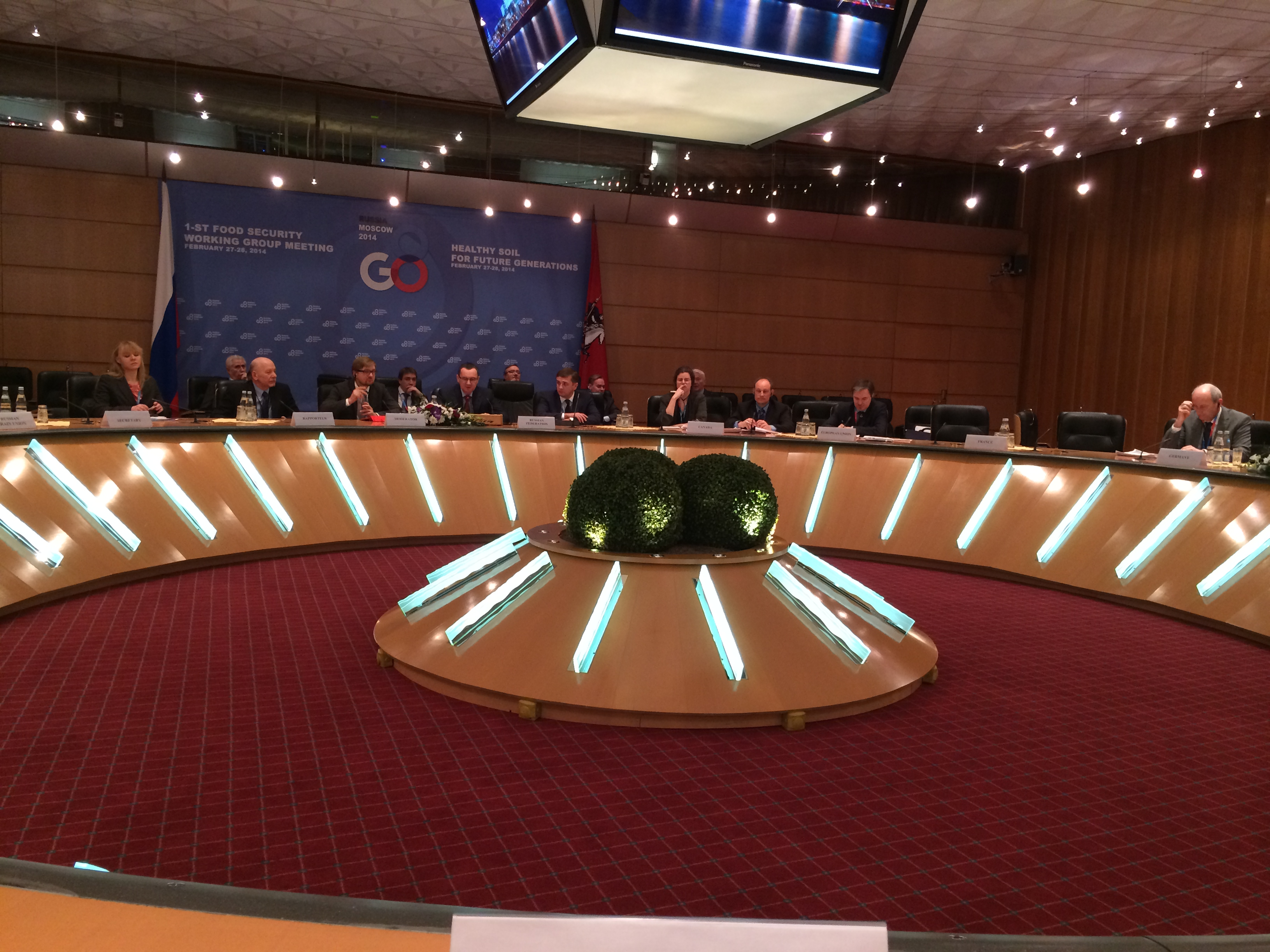 G8 1st Food Security Working Group Meeting: Healthy Soil for Future Generations