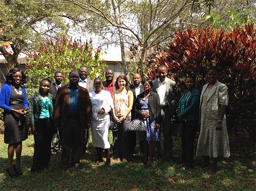 Farmers' rights meeting in  Malawi