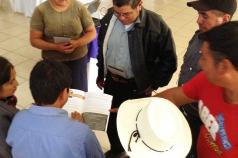 Training of local farmers in Guatemala