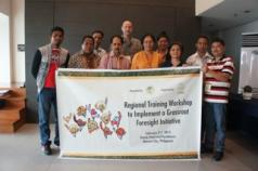 Group picture during the AFA/GFAR training workshop on grassroots foresight